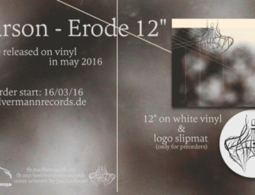 ~ preorder & stream the first song of Farson's 'Erode' ~